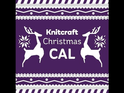 Knitcraft Christmas is crochet along part one row 25