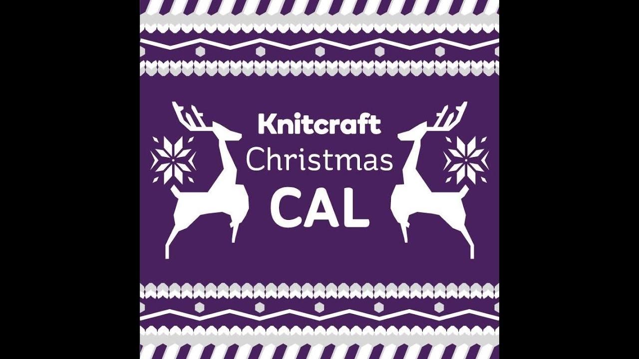 Knitcraft Christmas is crochet along part one row 25