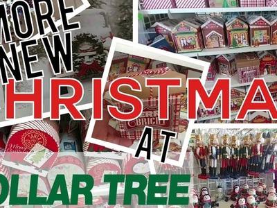 New Christmas at dollar Tree Trip 2   Shopping Hauls
