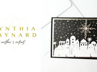 Night in Bethlehem Easy Christmas Card with Edgelit Dies