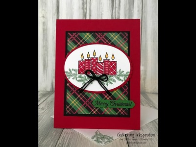 Stampin' Up! Merry Patterns. .   Merry Christmas Card