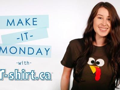T-shirt.ca's Make it Monday   DIY: Turkey Shirt