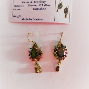 Tourmaline Earrings