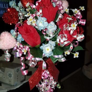 Valentine's Vase