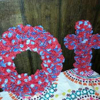 Wreath and Cross Set