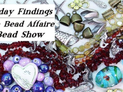A Day at the Bead & Jewelry Show-A Bead Affaire in Watertown MA-Friday Findings