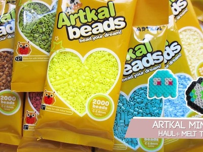 Artkal Mini Haul + Melt test | Testing Artkal mini beads and Artkal with perler mini beads