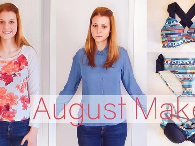 August Makes - What I've been Sewing | Don't dream it - sew it!