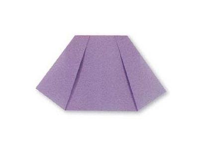 Cách gấp váy ngắn bằng giấy || How to make easy origami mini skirt