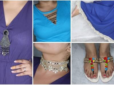 DIY Clothes, Footwear & Accessories  For Diwali | Indo Western | #Diwalog Day 16