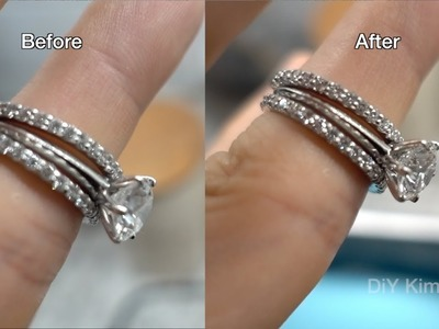 DIY Diamond Jewelry Cleaning with Soap, Water, and Sound Waves