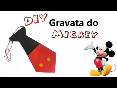 DIY - Gravata do Mickey em E.V.A