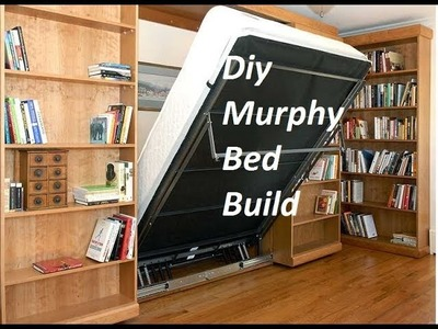 Diy Murphy Bed Build -  Wall bed Hack Without the Hardware Kit | Art DIY