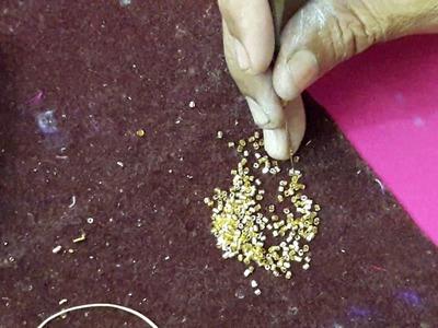 Glass beads work