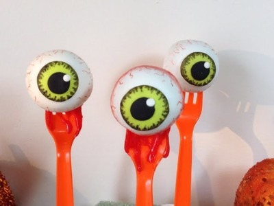 Halloween Bloody Eyeball Cakepops (How To)