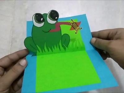 Handmade Children's Day Popup Greeting Card | Greeting Card for Kids| #TukkuTV