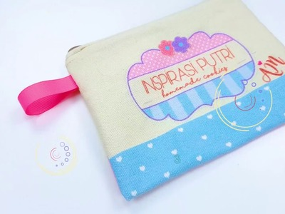 How to Make DIY Pencil Case & Makeup Bag Step by Step - using Cotton Canvas Fabric