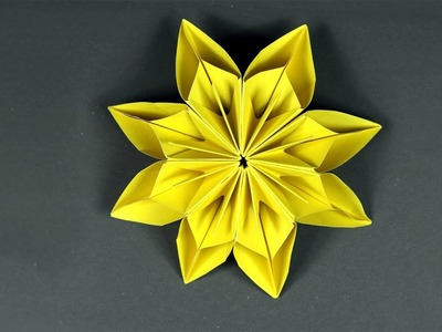 How to Make Paper Flowers - Easy Origami Flower Tutorial