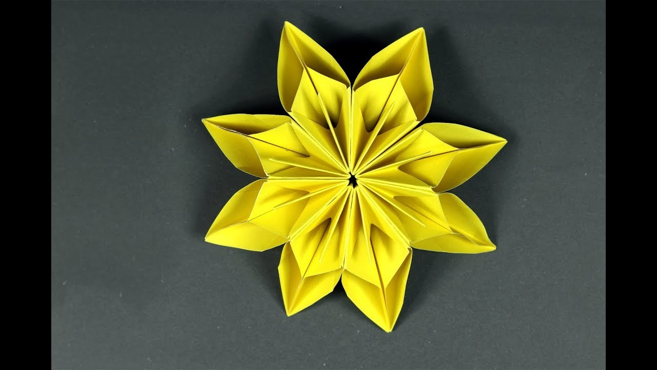 How To Make Paper Flowers Origami Roses Flowers Healthy