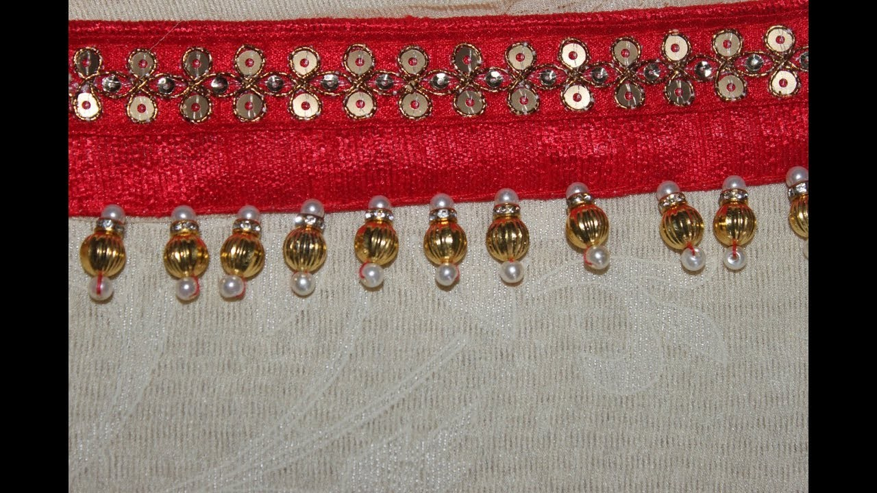 How to make simple beads kuchu