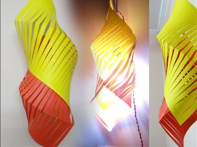 How to make stylish lantern for Diwali   Diwali decoration handmade items