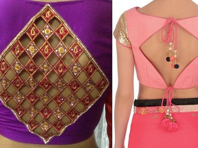 How to sew piping without cord in Diamond square shape neckline DIY (Hindi version)