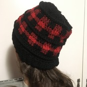Ladies Plaid Beanie