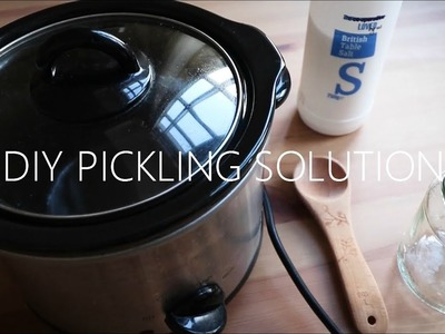 Learn Silversmithing: EASY HOMEMADE DIY PICKLING SOLUTION
