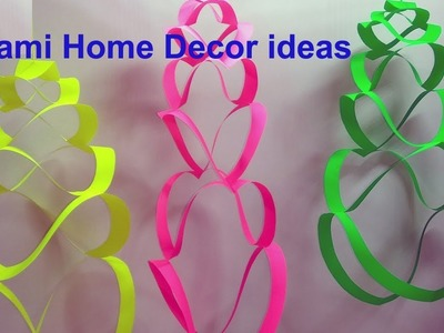 Origami home decor ideas।Easy Origami For Kids।Home decoration art and craft