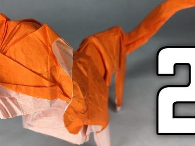 Origami Looper Cat Tutorial [ By Victoria Serova ] Part 2.2
