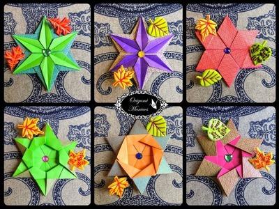Origami Maniacs 281: Mariela's Star (5 Variations)