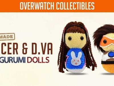 Overwatch Handmade Amigurumi Dolls