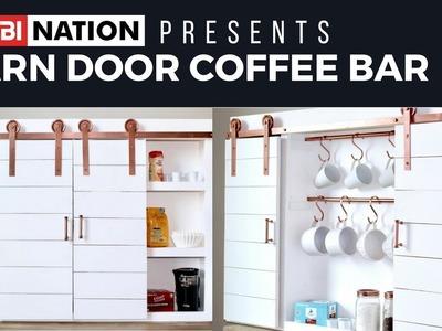 RYOBI Nation Presents: DIY Coffee Bar by Handmade Haven