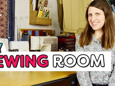 Sewing Room Tour - How I Maximize My Sewing Space