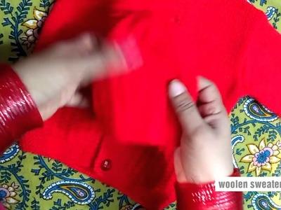Woolen sweater designs | new sweater designs for kids or baby in hindi - woolen cap designs