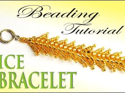 BEADING TUTORIAL - RICE BRACELET