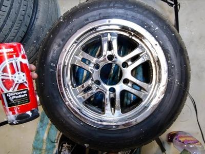 Chrome Polish Wheels for Under $30! DIY