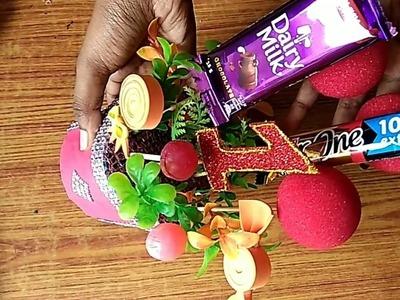 DIY Candy.Lollipop Bouquet#Birthday party Decoration Idea#SS Krafts#20