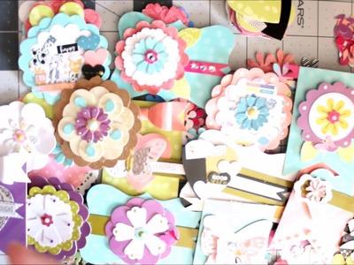 DIY Embellishments ~ Layered Flowers
