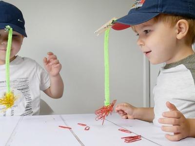 DIY: Fun Magnet Fishing Game For Kids