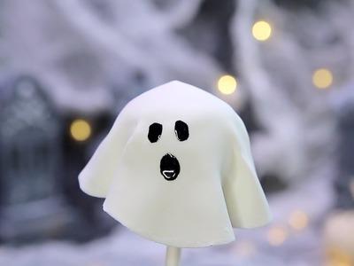 DIY Halloween Cake Pop Ghosts! | Kravings