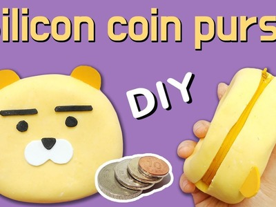 DIY) How to make A Coin Purse with Silicone and Starch!