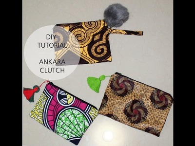 DIY: How To Make A Simple Clutch Purse