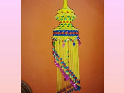 DIY How To Make Macrame Jhumar. Macrame Chandelier || Full HD Video