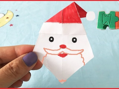 DIY How To Make Paper ????????Santa Claus ????????Easily with One Piece of Paper Christmas Present Surprise