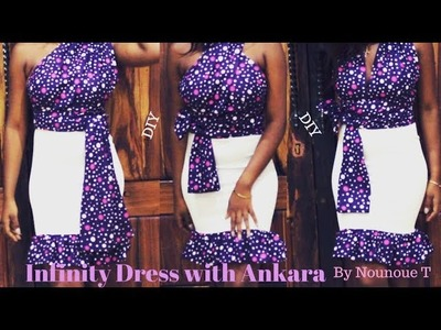 DIY Infinity Dress with Ankara