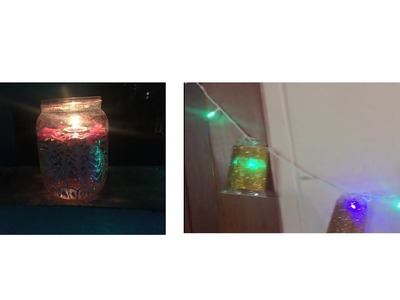 DIY lights and candles    Festive Series Part-1