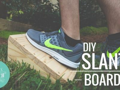 DIY Slant Board for Plantar Fasciitis. How To Make & Use
