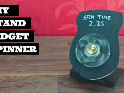 DIY Table Pedestal Plaque   Fidget Spinner Stand