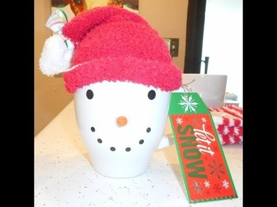 Dollar Tree DIY Snowman Cup Gift Pack and 1000 Subscriber Giveaway!